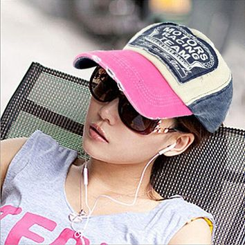 New Unisex Baseball Cap Cotton Motorcycle Cap Edge Grinding Do Old Hat Drop Shipping High Quality WOct28 Drop Shipping