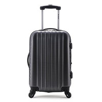 "F145-CARBON Melbourne 20"" Expandable Carry On Luggage Set"