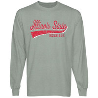 Illinois State Redbirds All-American Primary Long Sleeve T-Shirt - Ash