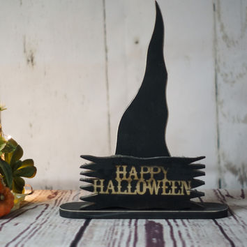 Rustic Primitive Witch Hat
