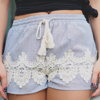 Freshwater Pearls Shorts