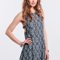 Global Travels Printed Dress