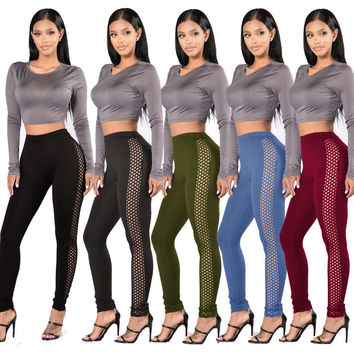 Women Casual Jeans Skinny Leggings Stretchy Pants High Waist Pencil Jeggings Yog