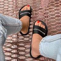 Balenciaga BB Slide Slippers Sandals