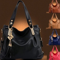 High Quality Women's Fashion Casual Leather Handbags Totes Purses 5 Colors = 1932607492