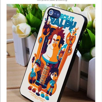 Wreck it ralph iPhone for 4 5 5c 6 Plus Case, Samsung Galaxy for S3 S4 S5 Note 3 4 Case, iPod for 4 5 Case, HtC One for M7 M8 and Nexus Case