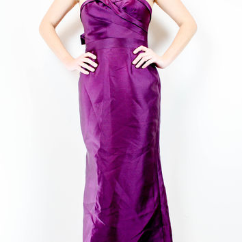 Adrianna Papell Purple Gown