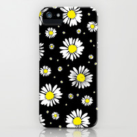 Daisies iPhone & iPod Case by Ornaart