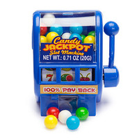 Candy Jackpots Slot Machine Dispensers: 12-Piece Display