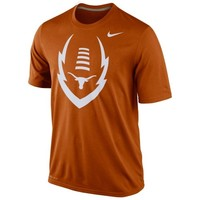 Nike Texas Longhorns Icon Legend Performance T-Shirt - Burnt Orange