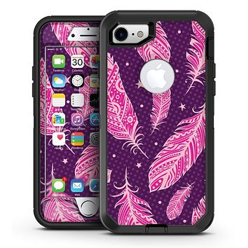 Pink and Yellow Pineapple - iPhone 7 or 7 Plus OtterBox Defender Case Skin Decal Kit