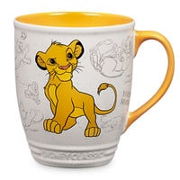 Disney Simba Mug, Animation Collection | Disney Store
