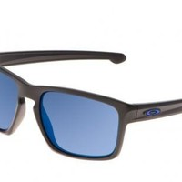 NEW Oakley - Sliver - Sunglasses, Matte Black / Ice Iridium Lens, OO9262-31