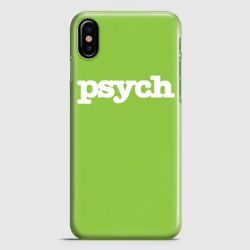 Psych Tv Series iPhone X Case