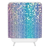 Lisa Argyropoulos Pastel Galaxy Shower Curtain