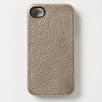 Metallic Leather iPhone Case