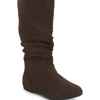 Aeropostale  Faux Suede Boot - Brown,