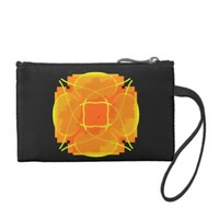 Orange Explosion Coin Purses