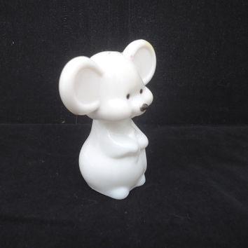 Vintage Avon Mouse Perfume Bottle, Avon Mouse Decanter, Collectable Avon Mouse Figurine