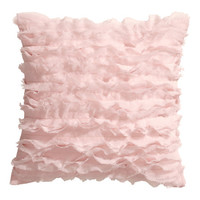 Ruffled Cushion Cover - from H&M