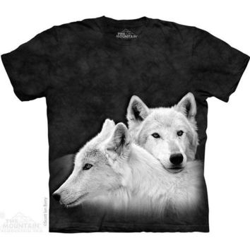 New WOLF SIBLINGS YOUTH CHILD  T SHIRT -