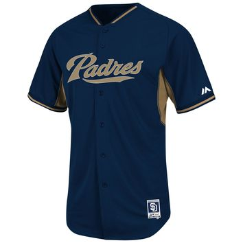 San Diego Padres 2015 Authentic COOL BASE Batting Practice MLB Baseball Jersey