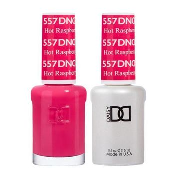 DND - Gel & Lacquer - Hot Raspberry - #557
