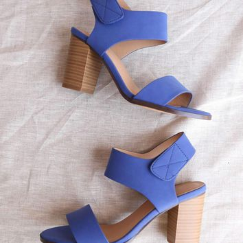 3fd19da3bfef Open Toe Chunky Block Heel Ankle Strap Sandals in More Colors