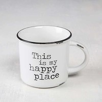 Happy Place Camp Mug