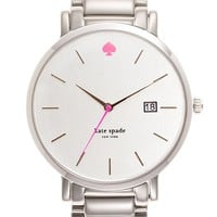 Women's kate spade new york 'gramercy grand' bracelet watch, 38mm
