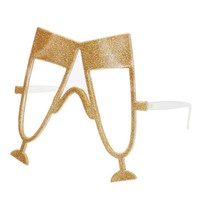 Gold Champagne Flute Drinking Glasses