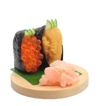 Delicious Food Stand for Smartphone (Uni/Ikura)