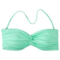 Target : Mossimo® Women's Mix and Match Twist Bandeau Swim Top - Isle Green : Image Zoom