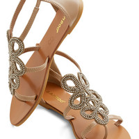 ModCloth Luxe Knot All Who Wander Sandal