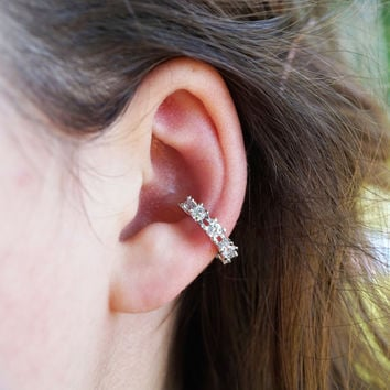 Crystal Non Piercing Ear Cuff