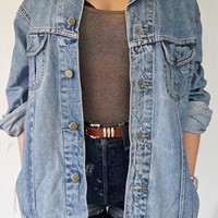 VIntage 70s/80s Lee Sanforized Denim Jacket  from VintageSteal