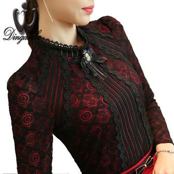 Fashion Ladies Lace blouse
