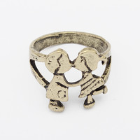 Jewelry New Arrival Gift Shiny Stylish Vintage Metal Strong Character Accessory Ring [4918805380]