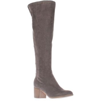 Indigo Rd Oneal Over-The-Knee Boots, Gray, 6 US