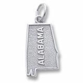 Alabama Charm In Sterling Silver