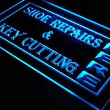 Shoe Repairs Key Cutting LED Neon Light Sign
