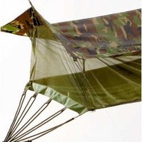 WOODLAND CAMO JUNGLE HAMMOCK - Cots  Camp Stools - Field  Survival Gear / Disaster Preparedness - Special Forces Gear