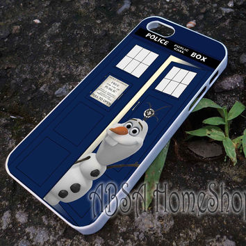tardis olaf disney frozen on aztec case for iPhone 4/4s/5/5s/5c/6/6+ case,iPod Touch 5th Case,Samsung Galaxy s3/s4/s5/s6Case, Sony Xperia Z3/4 case, LG G2/G3 case, HTC One M7/M8 case galaxy
