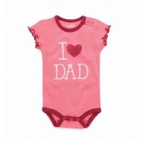 Hatley Infant I Love Dad Onesuit