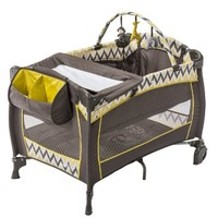 Evenflo Babysuite Premier Portable Crib, SantaFe Sunset