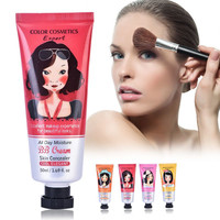 1PC 50ml Korean Whiten Cosmetics BB&CC Cream Face Foundation Makeup Skin Care Make Up Concealer Moisturizing Liquid