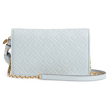 Tory Burch Fleming Leather Wallet/Crossbody | Nordstrom