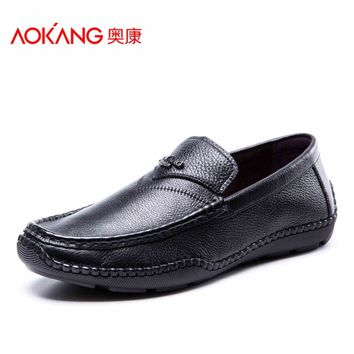 New Arrival loafer shoes genuine Leather Man shoes Breathable Men's Shoes Casual Fashion male shoes