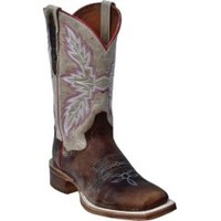 Sheplers: Dan Post Flagger Cowgirl Boots - Square Toe