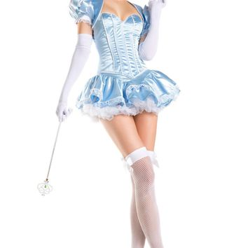 Be Wicked Costume 4 Piece FAIRYTALE PRINCESS